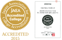 JACA Accredited College